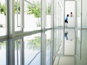 Polyurethaan coating kantoorvloer