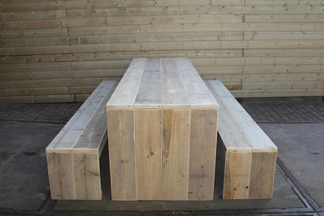 Steigerhout coating lakken nano coating aanbrengen for Tuintafel maken van steigerhout