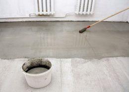 Aanbrengen van betonverf