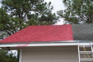 Betonnen dakpannen schilderen