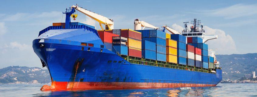 maritieme scheepvaart coatings op schip