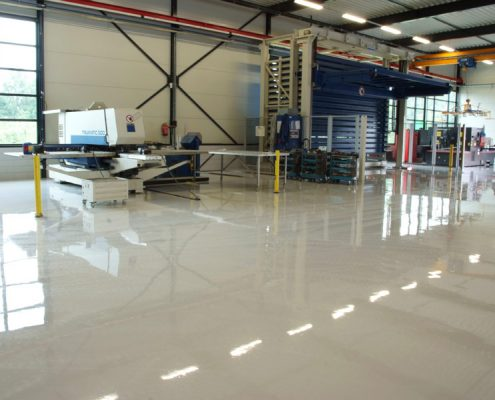 Epoxy vloercoating garage