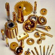 Mechanische TiN coating onderdelen