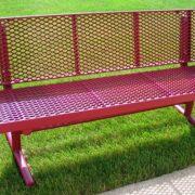 Plastic coating op rode bank