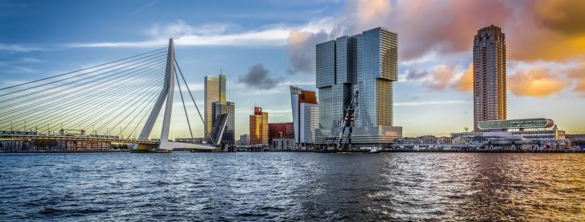 Poedercoaten Rotterdam aanzicht stad