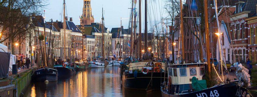 Poedercoaten Groningen aanzicht stad