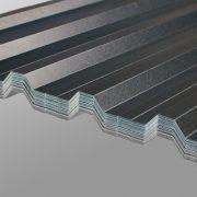 damwand plastisol platen met plastisol coating voor het dak