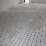 vloerverwarming in nieuwbouwhuis