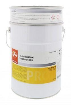 2K epoxy gietvloer los blik van 10 kg
