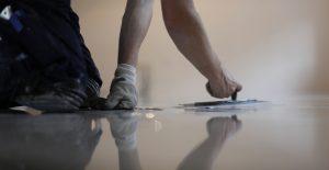 Badkamer Met Gietvloer : Gietvloer badkamer inloopdouche ➔ wand vloer coating