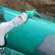 pijpleiding coating aanbrengen hotspray