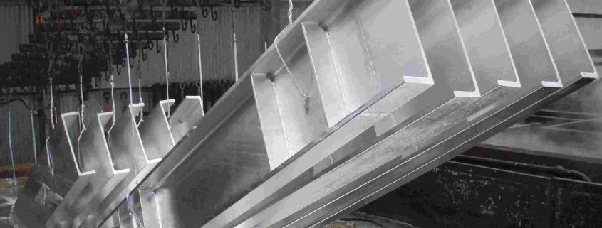 Thermisch verzinken staalconstructies