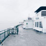 Marine coating zorgt voor antislip op nat scheepsdek
