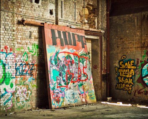 graffiti verwijderen voorbeeld graffiti