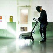 haccp vloercoating aanbrengen met instant uv