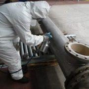 hittewerende coating op stalen pijp