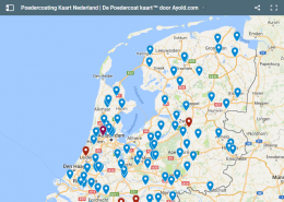 Poedercoating in Nederland