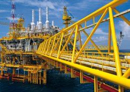 poedercoaten offshore geel