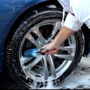 poedercoating schoonmaken velgen auto