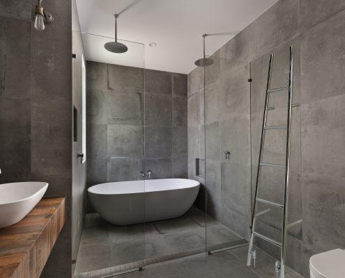 betonlook in de badkamer voorbeeld