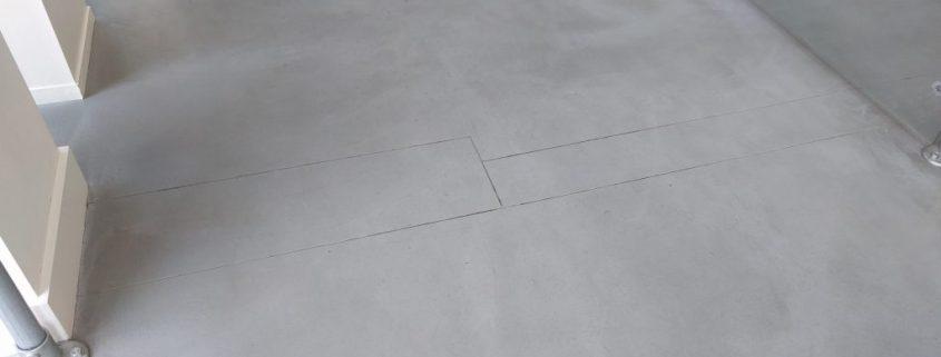 nadelen van een gietvloer scheur in ondergrond