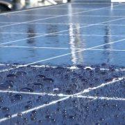 nano coating voor zonnepanelen zelfreinigende werking voorbeeld