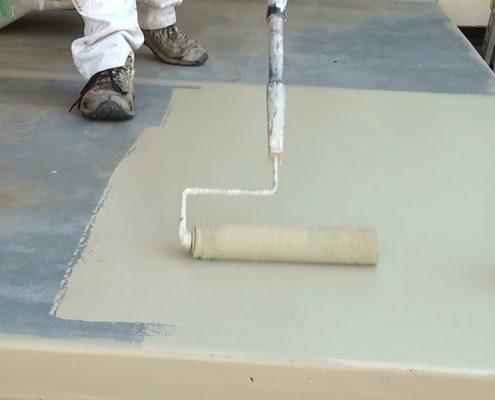 zelf een betoncoating aanbrengen voorbeeld