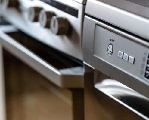 Huishoudelijke apparaten poedercoaten
