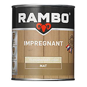 Rambo hout impregneren transparant