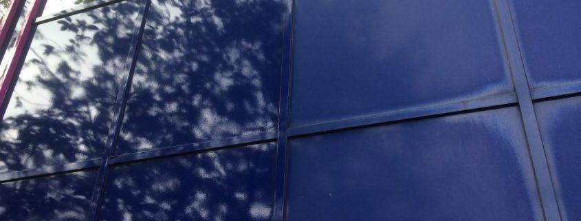 kleurherstellende coating of renovatiecoating gevelbeplating