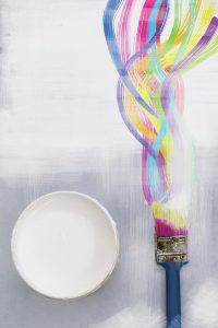 Decoratieve coating is er in vele kleuren