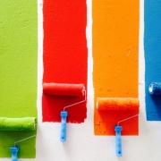 Verf kiezen begint met kleurstalen
