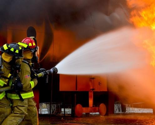 brandvertragende spray en impregneer