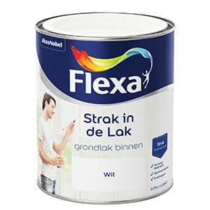 Flexa Strak in de lak grondverf wit 750 ml