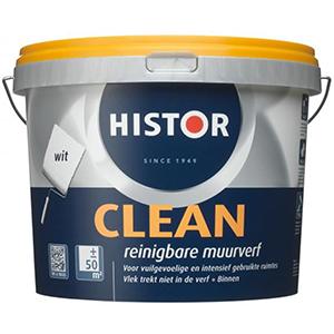 Histor Clean Reinigbare Muurverf RAL 9016