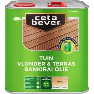 CetaBever vlonder- en terrasolie bankirai UV